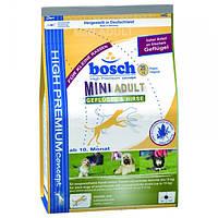 Корм для собак Bosch Adult Mini Poultry & Millet 3 кг з птицею і просом