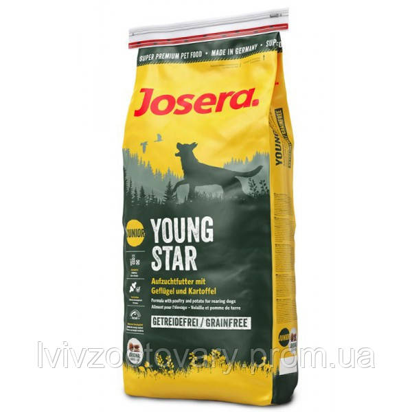 Корм для собак (Джозера) Josera YoungStar 15 кг - для цуценят собак всіх порід