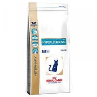 Лікувальний корм для котів (Роял Канін) Royal Canin Feline Hypoallergenic DR 25 4,5 кг - харчова нестерпність
