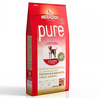 Корм для собак (Мерадог) MERADOG Pure High Premium Turkey & Potato 12,5 кг - для дорослих собак всіх порід