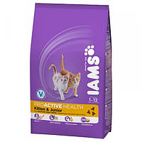 Iams Kitten & Junior with Chicken 10 кг
