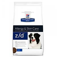 Корм для собак Hill's Hills Prescription Diet Canine Z/D 10 кг