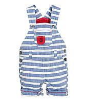 Детский летний комбинезон для мальчика H&M. 9-12, 12-18, месяцев, 1,5-2 года