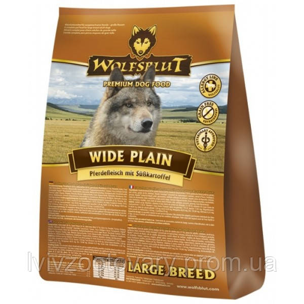 Wolfsblut Wide Plain LARGE Breed 15 кг