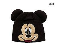 Шапка Mickey Mouse для мальчика. 40-46 см