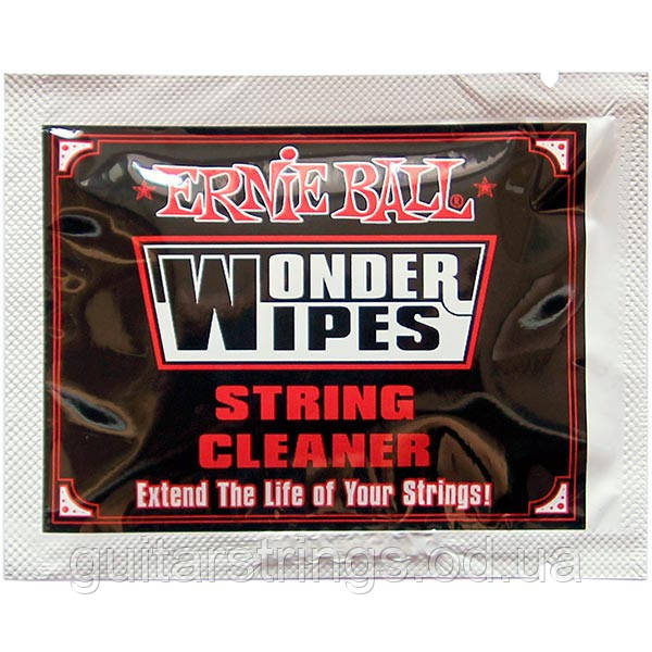 Салфетка Ernie Ball 4249 Wonder Wipes String Cleaner 1pcs