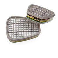 3M™ 6059 - фильтр для масок и полумасок, защита от газа и пара ABEK1, 1 шт.
