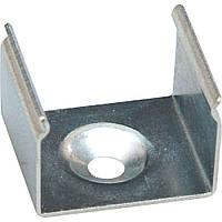 Крепеж для профиля CAB261 17,2*15*10mm, шурупы в комплекте, LD139