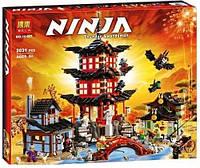 "Конструктор Ninjago ""Башня - Храм Аэроджитсу"", 2031 дет., тип лего"