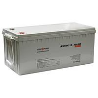 Гелевая аккумуляторная батарея LogicPower 12V 200Ah