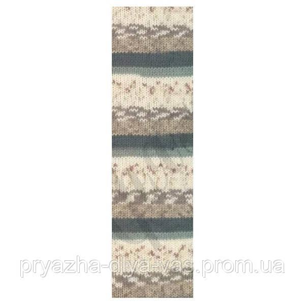 Пряжа (20%-шерсть,80%-акрил,100г/200м) Alize Motif 2959