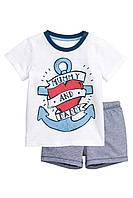 Летний детский комплект для мальчика. 1,5-2 года