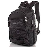 Рюкзак для ноутбука Onepolar Мужской рюкзак с отделением для ноутбука ONEPOLAR (ВАНПОЛАР) W1077-black