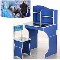 Детская парта Растишка Vivast МV-904-32 Снежная Королева (синий)