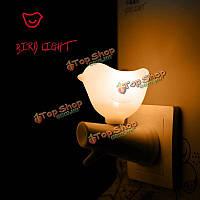 Мини LED свет управлением мило птица свет ночи домой декоративные огни теплый свет стены подарок