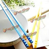 Портативный cordwood блокирует палочки для еды lego кирпичные палочки для еды