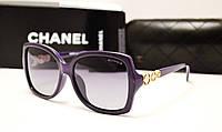 Женские солнцезащитные очки Chanel 1758 фиолетовый цвет