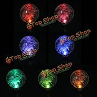 LED Изменение цвета солнечных батареях для стекла путь шар света