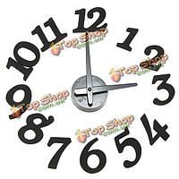 Поделки современным дизайном собственной значное точка самоклеющиеся настенные часы
