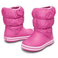 Сапоги CROCS Kids Puff Boot  размер c13