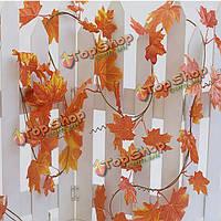 Гирлянда искусственных листьев Лоза винограда/Листья