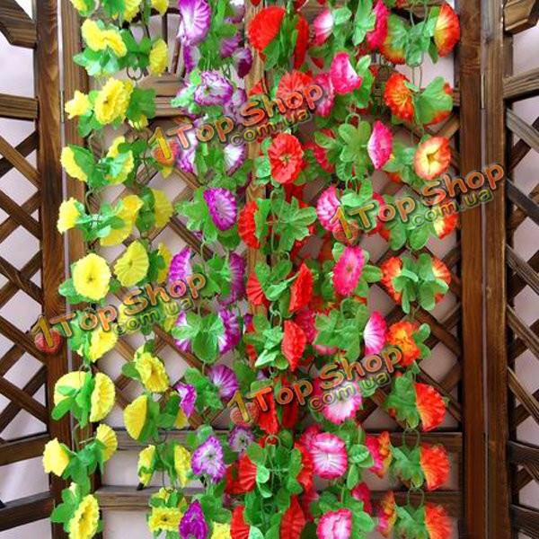 1 строка моделирования искусственными цветами арки свадебные украшения стены - ➊TopShop ➠ Товары из Китая с бесплатной доставкой в Украину! в Киеве