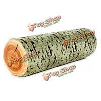 3D яркая форма журнала пень дерева бросить подушку коры дерева мягкие подушки дивана служебный автомобиль декор
