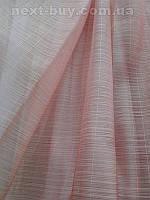 """Тюль органза """"Tati"""" розовый, фото 1"""