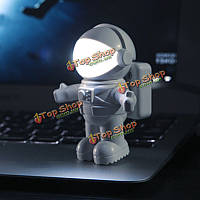 Астронавт ночь Датчик света звук и свет контролировать Лампа