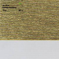 Рулонные шторы День-ночь ткань Бонжур Оливковый