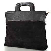 Женская сумка из натуральной замши и качественного кожезаменителя МІС MS0515-2