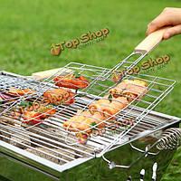 Барбекю инструменты сеток папка клип рыба жареная рыба чистая барбекю.
