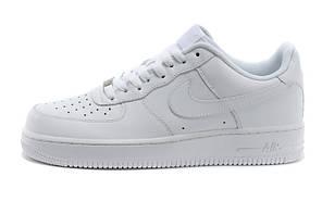 Женские кроссовки Nike Air Force low белые