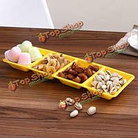 Фруктовые конфеты блюдо закуска лоток сухофруктов плиты