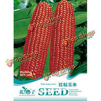 10шт красный восковой кукурузы семена овощных семян Новинка