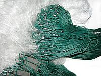 Сеть рыболовная (Трехстенная) 5 м х 100 м ячейка 50