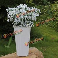 12шт Пластмассовый Цветок Растения Свадебный декор