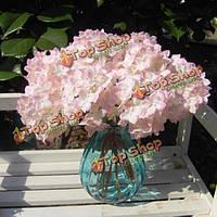 Искусственный цветок гортензия шелковые свадебный букет Party Главная свадьбы декора 5colors