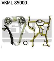АНАЛОГ для Opel 6606022  GM 93191271 Цепь ГРМ (комплект (набор) для замены цепи ГРМ (цепь+натяжитель+башмак+2 успокоителя+Прокладка передней крышки