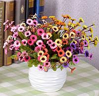 7 цветов искусственными подсолнухами шелковые Дейзи моделирования цветок букет домашний декор