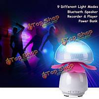 Умный лампы звукосниматель USB Bluetooth динамик игрок декоративные проектор с сенсорным банк силы