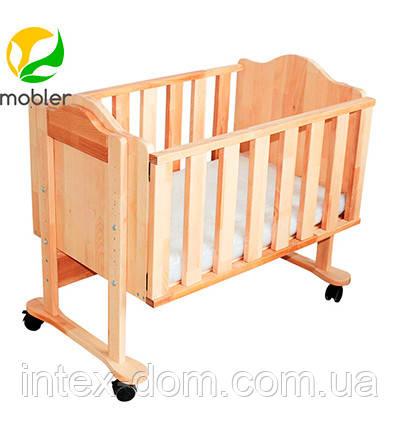 Приставная кроватка для новорожденных (Код:kp101)