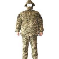 "Костюм зимний ""Военный"" Пиксель (цифра), Теплый армейский костюм из ткани Рип-стоп, фото 1"
