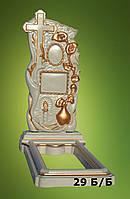 """Ритуальные памятники """"Крест-каллы"""", Код 29"""