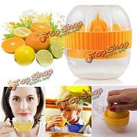 Портативный ручной соковыжималка для цитрусовых апельсиновый сок лимон фрукты соковыжималка