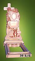 """Ритуальные памятники """"Крест ваза"""", Код 39"""