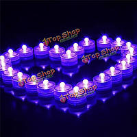 Водонепроницаемый LED свет свадьбу декор цветочный декор лампы ваза свеча аквариум свет