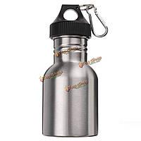 350мл нержавеющей стали широкий рот воды открытый спортивные бутылки бутылок