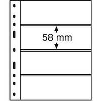Лист OPTIMA Classic для 4-х банкнот 180 x 58 mm