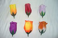 Бутон розы маленький шелк, 4 см, фото 1